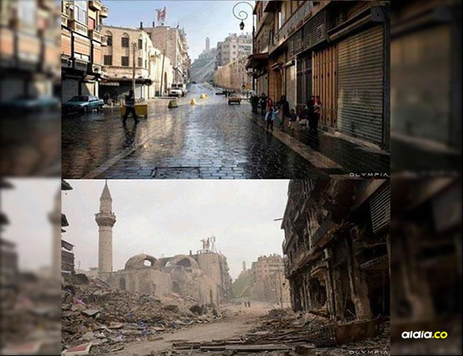 Alepo es la mayor ciudad de Siria, capital de la provincia homónima. En 2004 contaba con una población de unos 2.132.100 habitantes | Olympia Restaurant