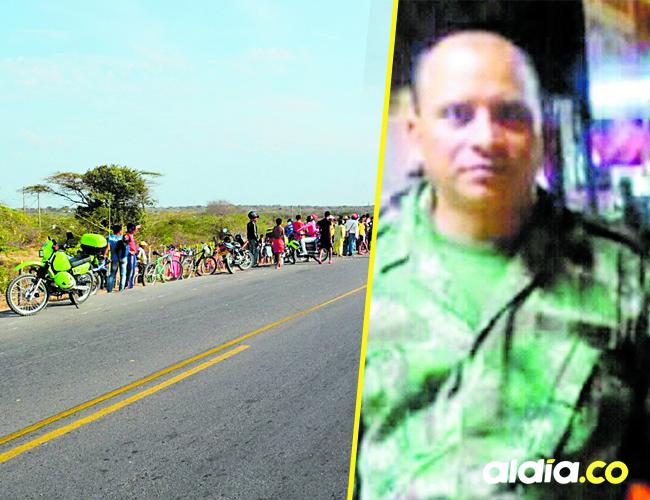 El comerciante y pensionado del Ejército, Rubén Darío Ruidíaz Guerra, de 43 años, de Guamal, Magdalena, fue asesinado | Foto AlDía