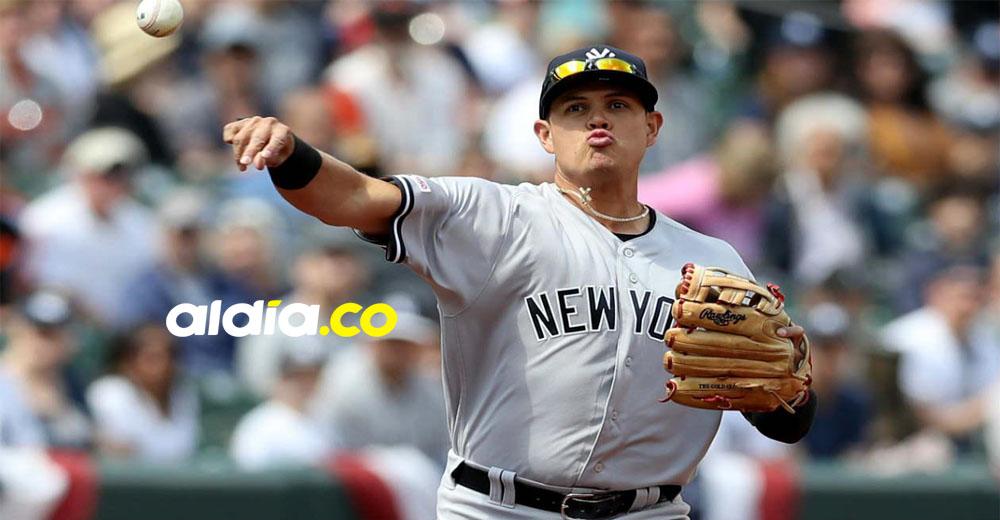 Giovanny Urshela está convertido en uno de los hombres de confianza del mánager Aaron Boone en Yankees de Nueva York.