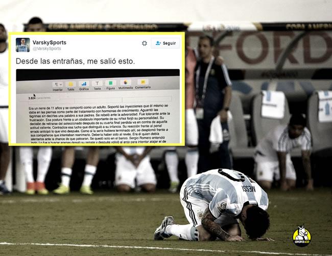 El astro argentino le confirmó a los medios de comunicación que se retirará de la selección Argentina.   Foto: EFE