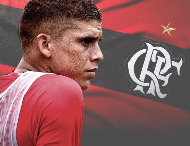 El exvolante del Junior de Barranquilla habló con AL DÍA sobre su nueva faceta en el Flamengo.