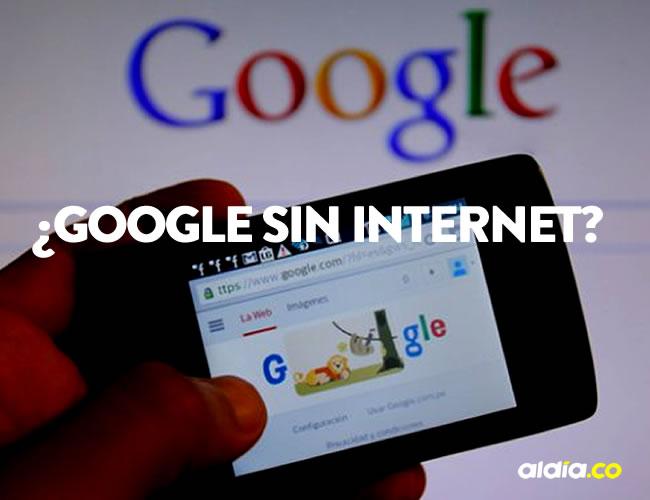 Los usuarios podrán revisar los resultados de su búsqueda tan pronto tengan nuevamente datos en el equipo móvil | ALDÍA.CO