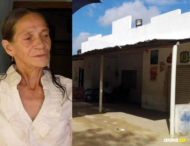 Fachada de la vivienda donde Sixta Domínguez fue asesinada. | Cortesía.