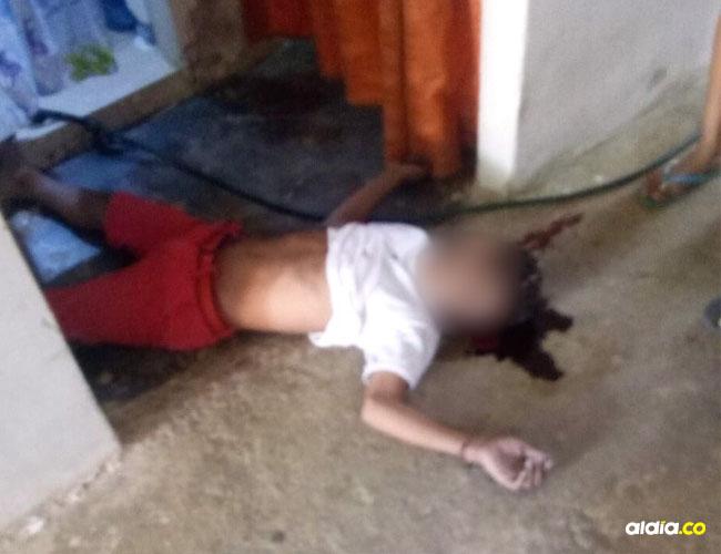 Al interior de una vivienda en Astrea un joven de 17 años, mató accidentalmente a otro de 15.