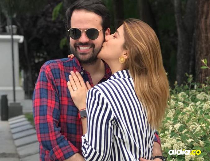Foto de la pareja durante su viaje a Madrid | Tomado de Instagram.