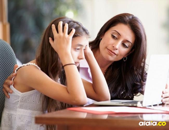 Los padres deben saber identifi car los casos.