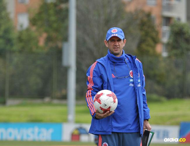 Arturo Reyes, director técnico samario de la Selección Colombia, que este jueves enfrenta a EE. UU.