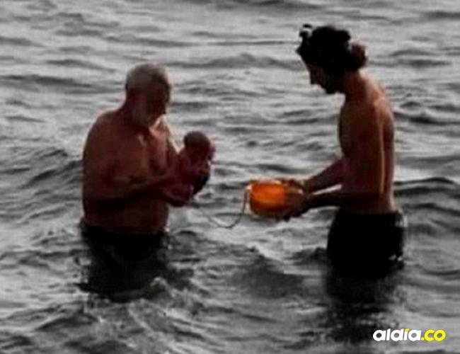 En el parto también estuvieron padre y médico I Cortesía: Daily Mail