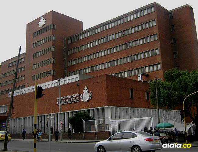 En la clínica San Rafael, en Bogotá | Mapio.net