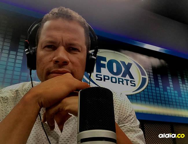 Óscar Córdoba, exarquero de la Selección Colombia y ahora presentador en Fox Gol Colombia | Twitter