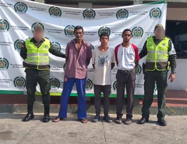 El hecho ocurrió en el Centro de Migrantes de Maicao. Fotos Cortesía.