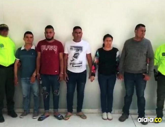 Integrante de la banda de cobradiarios capturados por la Policía por intimidar y golpear a sus clientes.