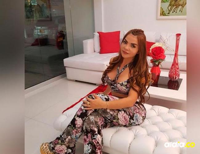 Nini Yohana Arrieta Castillo, apodada 'la Chica Plástica'. | Archivo