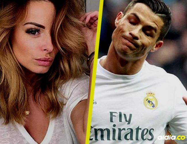 Cristiano Ronaldo y Rhian Sugden habrían intercambiado mensajes eróticos