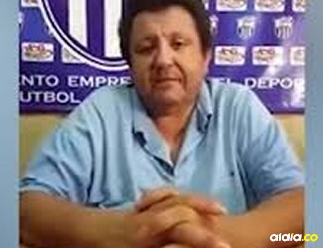 Antonio González presidente del club paraguayo