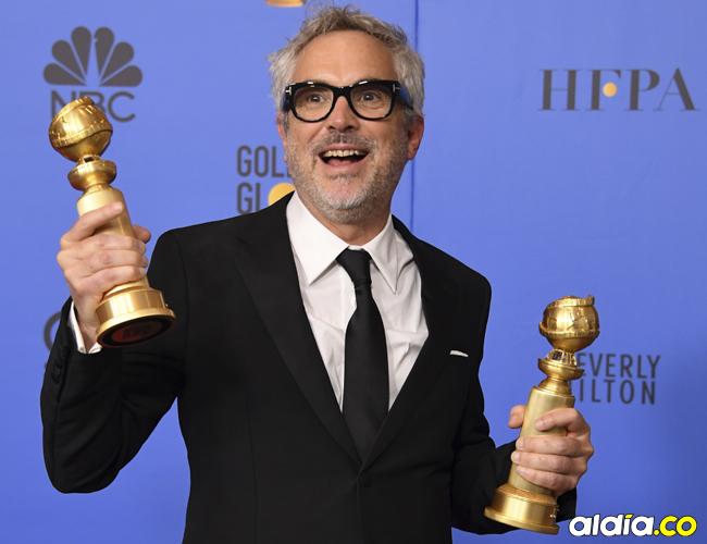 Alfonso Cuarón, director de 'Roma'. | AFP