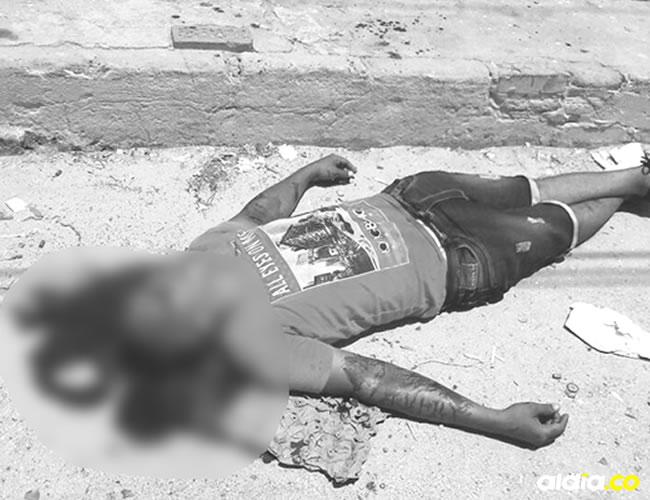 Denilxon David González Angulo, alias 'Toby', murió de manera instantánea tras los cinco balazos que le propinaron dos hombres en moto. | Al Día