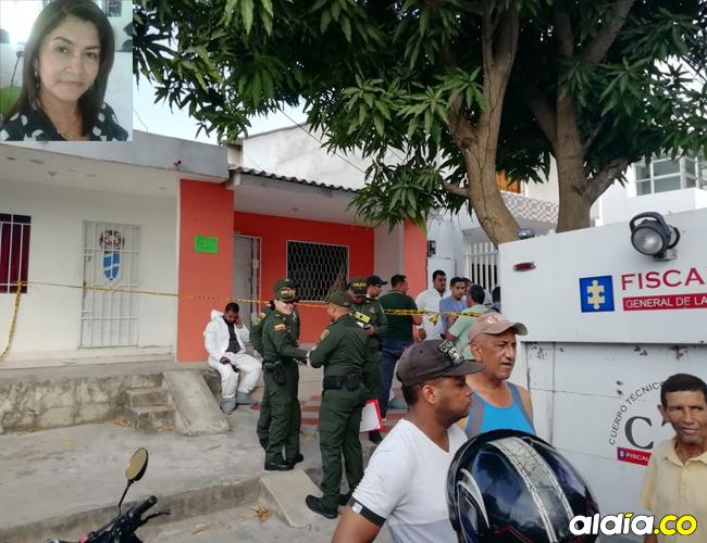Carmen residía en la calle 68B No. 25B-67, barrio San Felipe. | José Capela