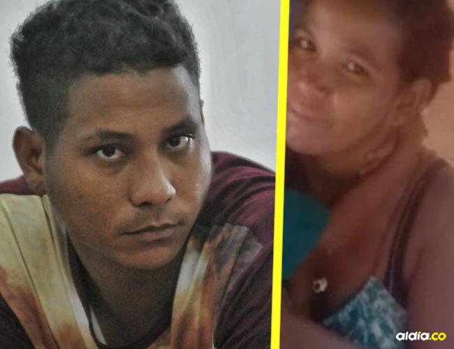 Agresor Ricardo Cañarete Escorcia, alias 'Ricardito' y su victima Neris Patricia Vega Thomas. | Al Día