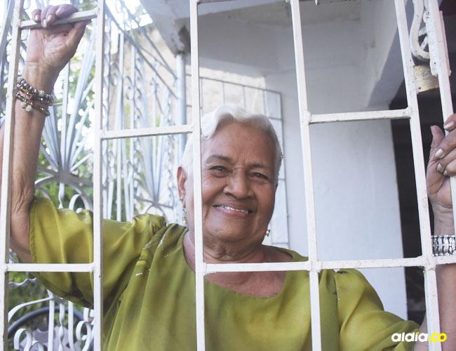 Para Mamá Ema, el voluntario al que se somete a diario, más que un castigo es un bendición.