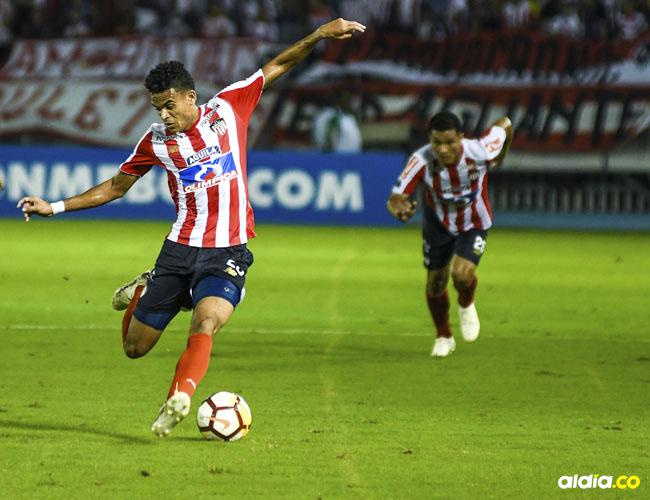 Luis Díaz, delantero de Junior.
