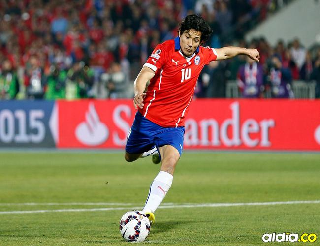 Matías Fernández, futbolista chileno. | Archivo