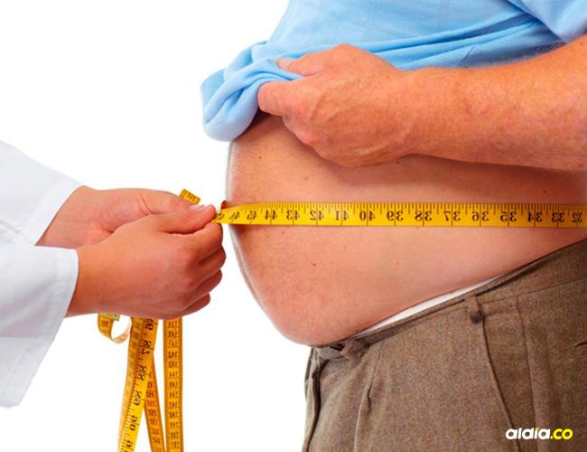 La grasa acumulada en el cuerpo representa riesgo.