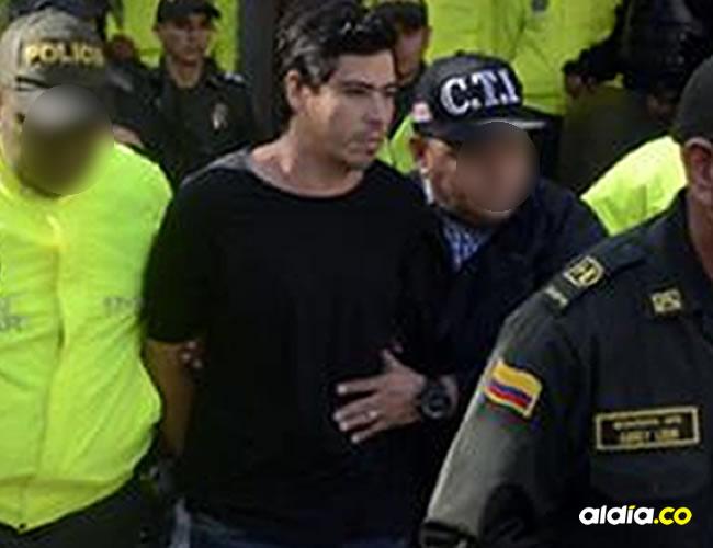 Cristian Camilo Bellón a su salida del Centro de Servicios Judiciales de B/quilla |  Luis Felipe De la Hoz