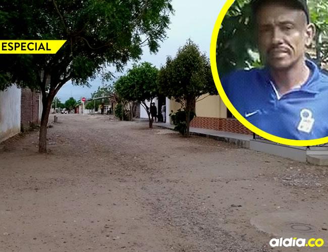 Orlando Rafael Domínguez Coronado, 44 años, fue asesinado por su hijo, Abel Javier Castellar Echenique | AL DÍA