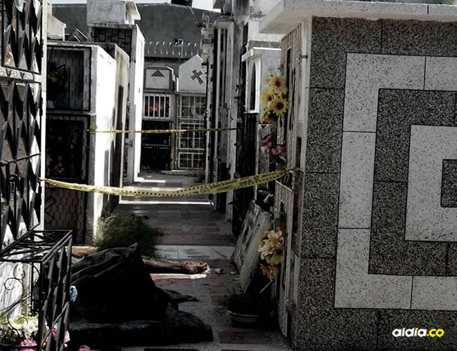 El hecho ocurrió en el cementerio San Jacinto, de Gaira, en Santa Marta | AL DÍA
