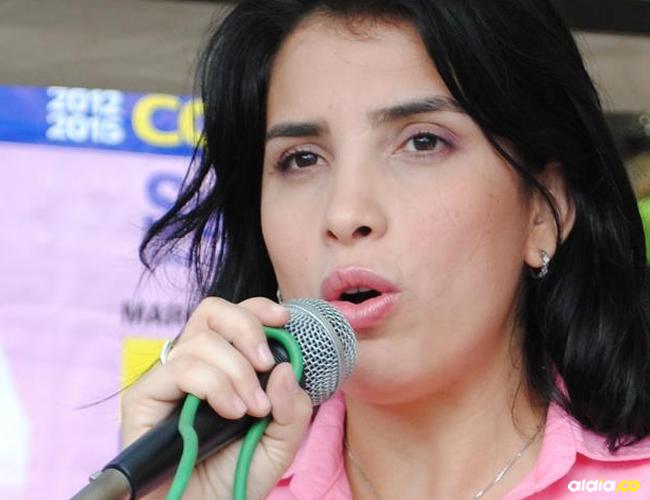 Senadora Aida Merlano Rebolledo, en el ojo del huracán por presunta compra de votos.   Al Día