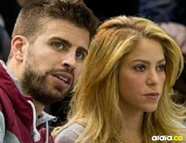 Shakira y Gerard Piqué. | Tomada de Internet