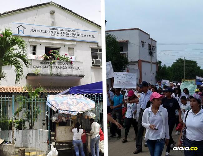Los habitantes de Calamar realizaron una marcha como protesta a los abusos sexuales que se están presentando | Al Día