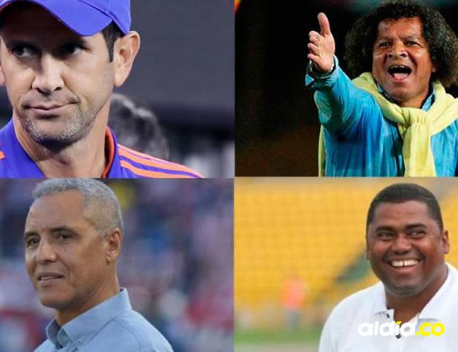 Arturo Reyes, Alberto Gamero, Alexis Mendoza y Hubert Boderth, cuatro de los DT costeños que se destacan.