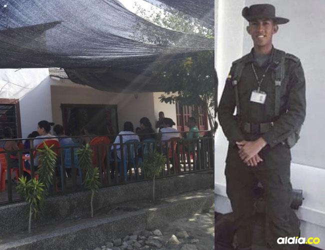 En esta casa de San Bernardo del Viento (Córdoba), residía con su familia el cadete Fernando Iriarte Agresoth. El joven era muy apreciado por sus vecinos.