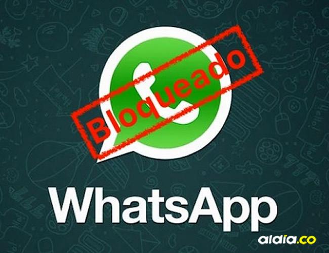 ¿WhatsApp puede bloquear la cuenta de un usuario? | Internet