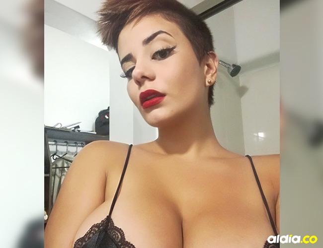 Amaranta Hank, actriz de cine para adultos | Tomada de: Internet.