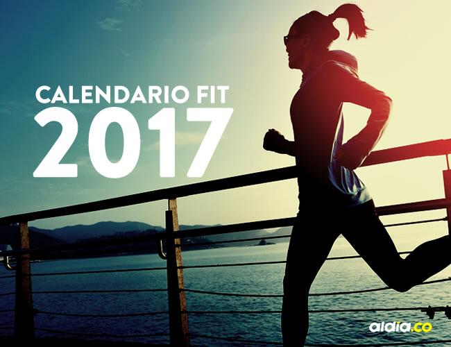 Calendario Fit.Este Es El Calendario Fitness Para Los Que Quieren Adelgazar