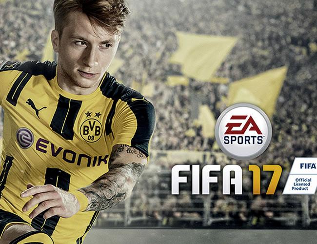 Marco Reus ganó la votación que lo convirtió en la imagen oficial de FIFA 17   EA Sports