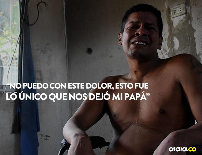 Tras sobrevivir del incendio Estewin le agradeció a su hermano Erwin Alexander Ibarra Castillo haberlo salvado | Johnny Olivares