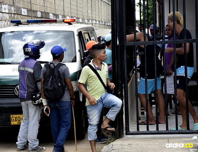 El hombre llegó sin signos vitales al Hospital local del municipio del Turbaco   Cortesía y Lorena Henríquez