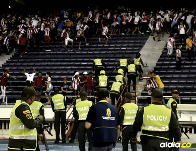El tema de seguridad es preocupante debido al aumento de riñas en algunas ciudades del país   ALDÍA