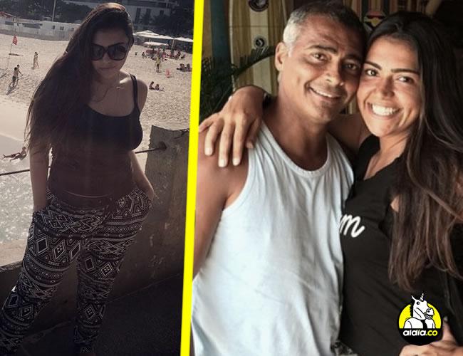Mónica de Souza, de 26 años, es hija de Romário de su primer matrimonio | ALDÍA.CO