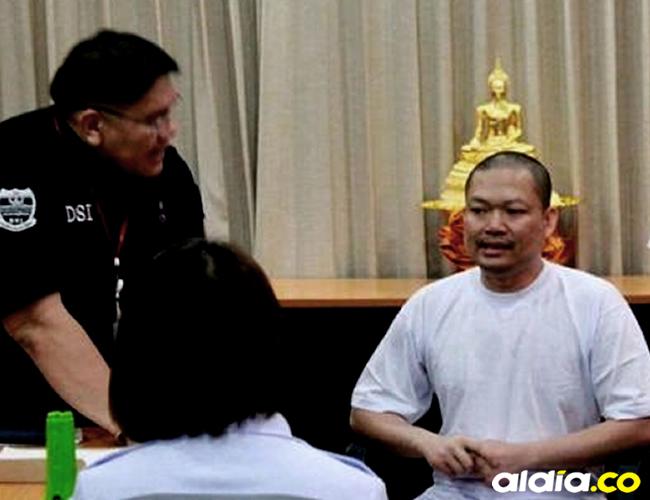 Wirapol Sukphol deberá responder ante las autoridades de Tailandia