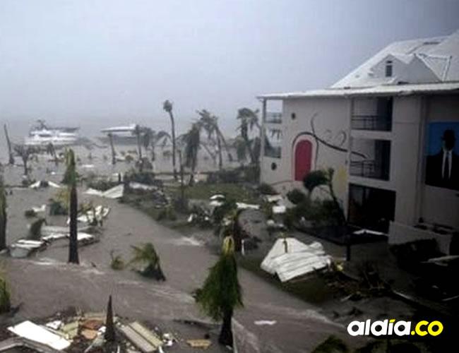 En San Martín, hoteles de lujo tuvieron que  evacuados   BBC Mundo