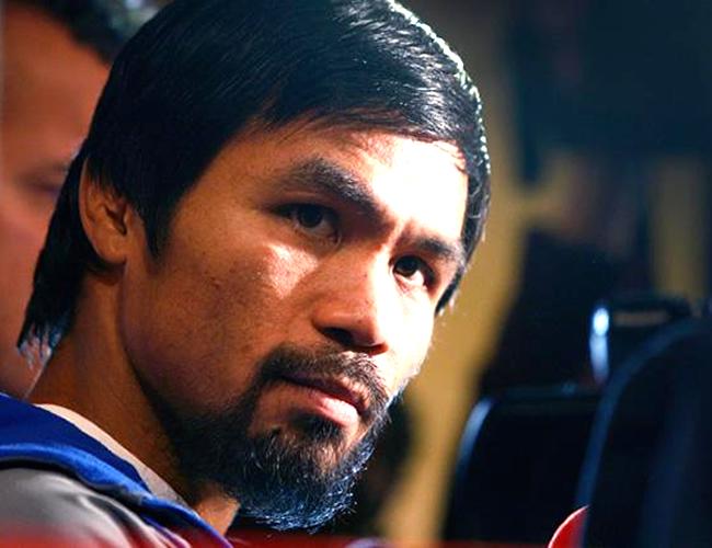 El boxeador filipino se metió en líos con los simpatizantes de la comunidad LGTBI al compararlos con animales. | Foto: ibtimes.com