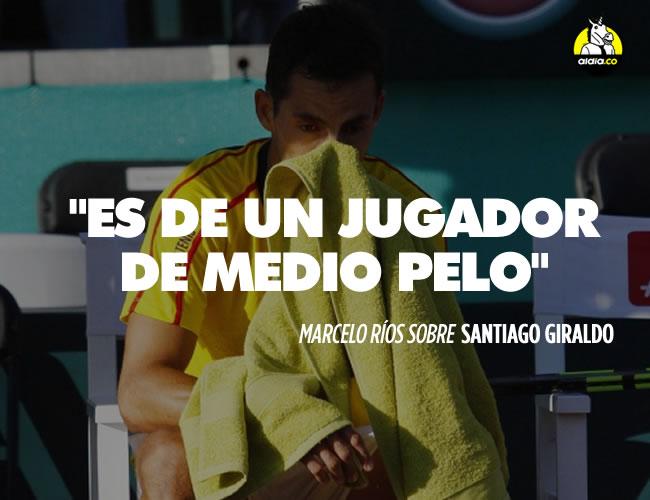 Incluso la periodista Andrea Guerrero, quien fue novia de Giraldo hasta hace unos años, se mostró molesta por lo que consideró una actitud egoísta por parte del jugador | EFE