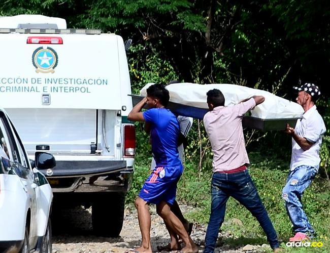 El cuerpo fue hallado cerca a la trocha que conduce 'Cominos de Tamacal' | AL DÍA