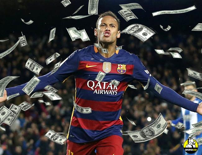 Neymar tiene 24 años y es fi gura del Barcelona.   T13.cl
