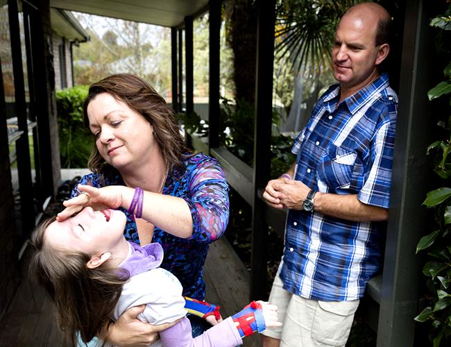 La atenuación del crecimiento es un tratamiento hormonal que impide que la pequeña Charley crezca.   Foto: Womens Weekly